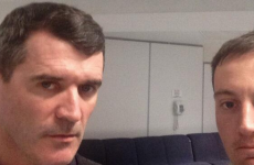 Asking Roy Keane to hop in for a selfie might not be the best idea