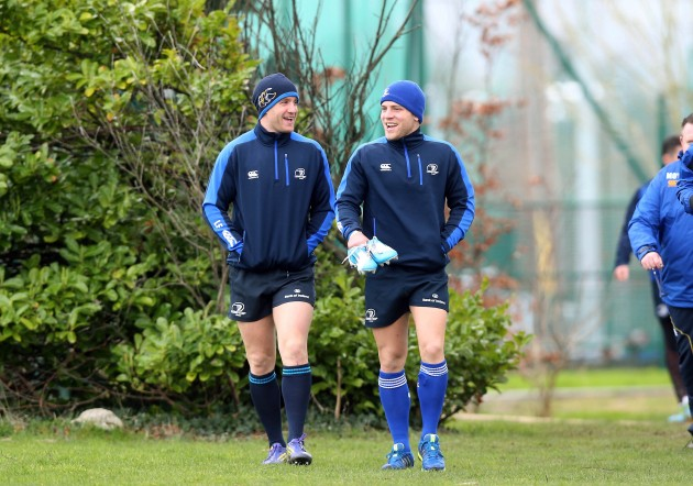 Luke Fitzgerald and Ian Madigan 24/2/2014