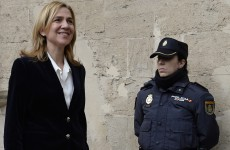 Spanish princess appears in court over fraud investigation