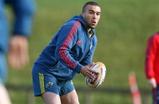 Zebo starts for Munster as Cardiff visit Thomond