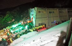 10 dead, dozens trapped in South Korea building collapse