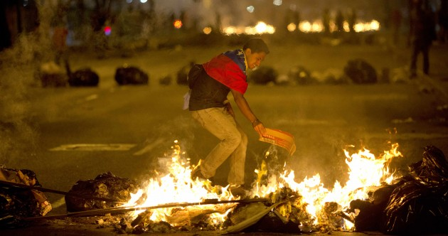 Man allegedly 'raped with gun' after arrest in Venezuela protests