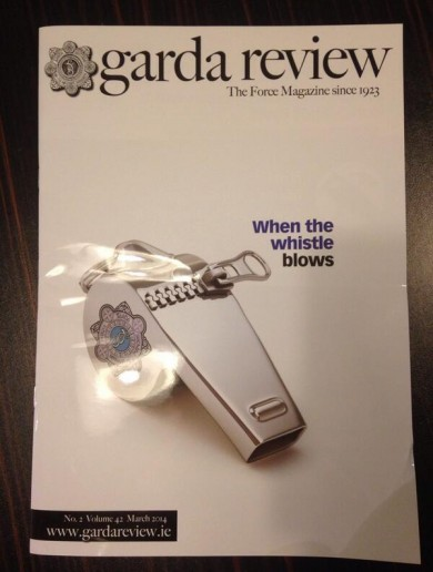Timely Garda Review Magazine Cover of the Day