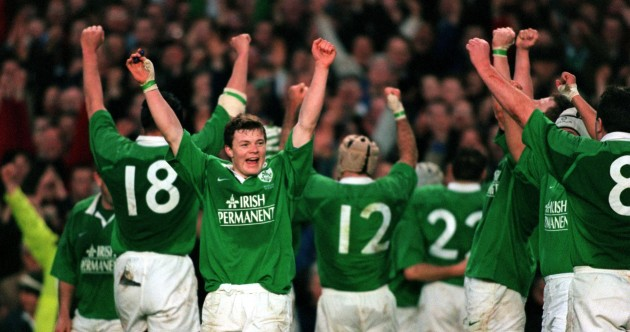 70 brilliant pictures of Brian O'Driscoll's internationals on home soil