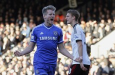Sensational Schürrle flays Fulham with handsome hat-trick