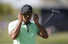 Tiger back in the hunt after tearing up Doral as McIlroy falls away