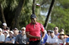 Tiger Woods hits TWO spectators with drives at the WGC-Championships