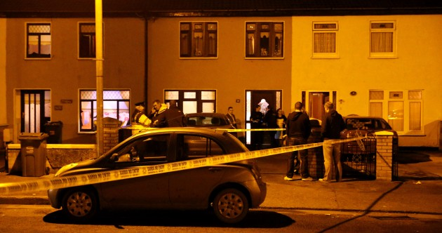 Photos from the scene of John Gilligan shooting