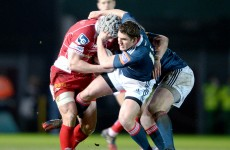 Munster lose out to Scarlets in a tale of two intercept tries
