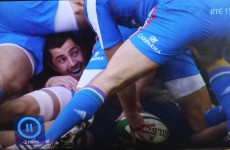 This brilliantly captioned photo of Rob Kearney has gone viral around the world