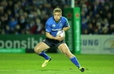 Injury woes continue for Luke Fitzgerald as he pulls out of Leinster game