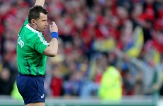 Nigel Owens will referee Munster's Heinek