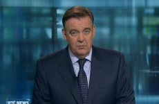 THAT awkward pause on the Six One News…