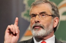 Adams: Unionist parties risk dragging peace process back to 1998