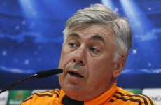 Carlo Ancelotti criticises Real Madrid fans after they boo their own team