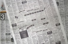 This ingenious 3D newspaper ad will mess with your head