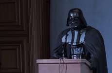Ukrainian authorities won't let Darth Vader run for presiden