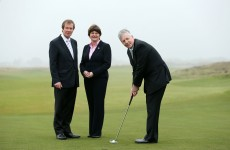 You wait forever for an Irish Open in Northern Ireland – and then three come along together