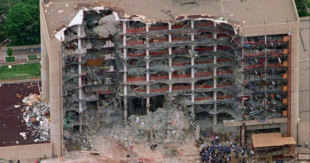 On this day in 1995, the Oklahoma bombing killed 168 people including 19 children on this day