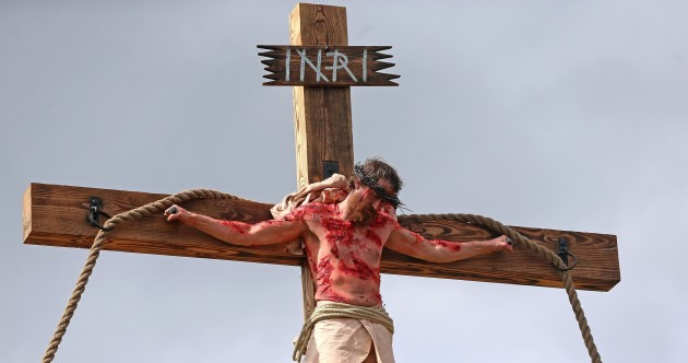 PHOTOS: A Limerick village re-staged Christ's crucifixion today – in stunning detail