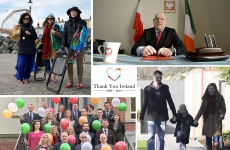 Go raibh míle maith agaibh: Poland thanks Irish people for 10 years of kindness