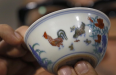 Why did someone buy this cup for $36 million? Because he liked it, of course