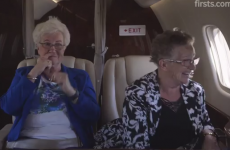 Laugh and cry as these Grannies take their first ever flight