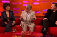 Juliette Binoche was utterly lost on Graham Norton last night