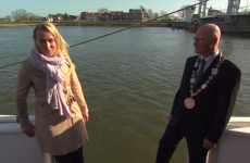 Epic interview fail by reporter on a boat