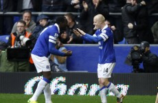 Everton down Arsenal to keep