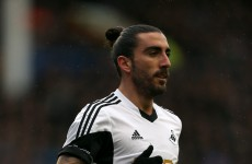 Did Chico Flores deserve to be sent off against Chelsea for this infringement?