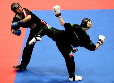 Ireland has enjoyed considerable success in kickboxing of late, with several athletes, including Shauna Bannon (pictured) winning gold medals on the world stage.