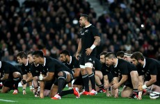 All Blacks looking to 'put the foot on the throat' of England as Fekitoa starts